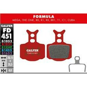 Galfer ADVANCED BRAKE PAD FORMULA